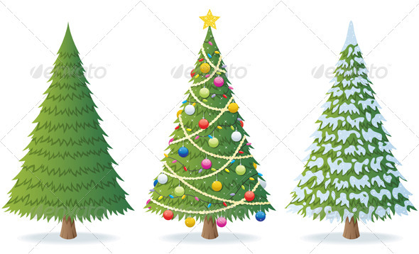 GraphicRiver Christmas Tree 488046