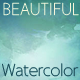 Watercolor Art; 5 Backgrounds - GraphicRiver Item for Sale