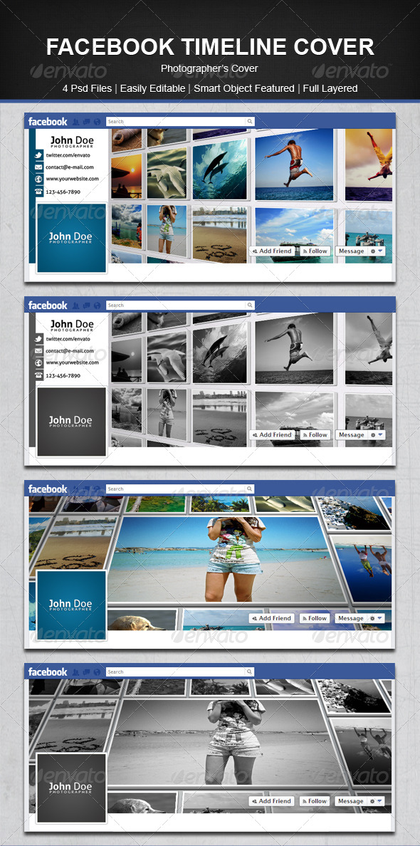 GraphicRiver Facebook Timeline Cover 4666262