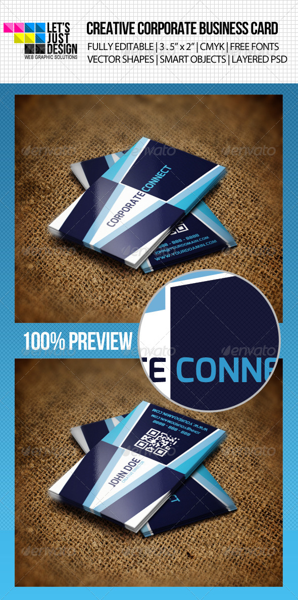 GraphicRiver Creative Corporate Business Card 4666277