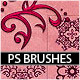 Filigree Brushes 01 - GraphicRiver Item for Sale
