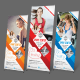 Sport Center - Stand Banner - GraphicRiver Item for Sale