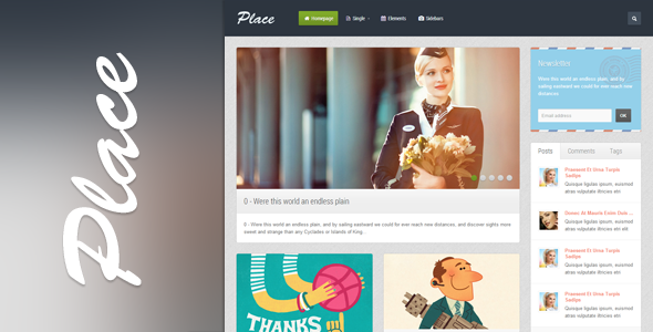 Place - Full Responsive HTML Template - 01_Preview.png for preview of item detail