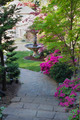 Brick Pavers Walkway to Front Yard - PhotoDune Item for Sale
