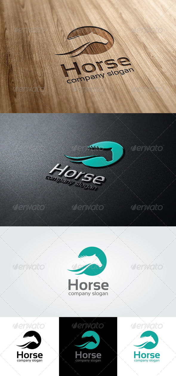 GraphicRiver Horse Logo Template 4667262