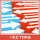 Vector Arrows Background #3 - GraphicRiver Item for Sale