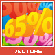 3d Discount Numbers Pack - GraphicRiver Item for Sale