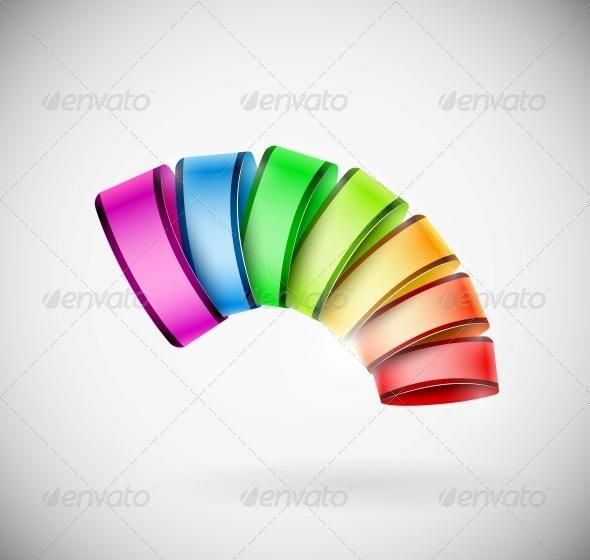 GraphicRiver Colorful 3D Icon 4668787