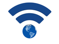 Blue WiFi symbol - PhotoDune Item for Sale