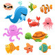 Sea Animals Collection - GraphicRiver Item for Sale
