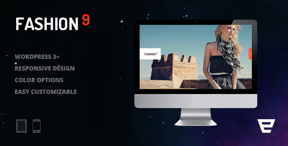 Fashion9 - Responsive Photography WordPress Theme - Photography Creative