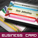 Corporate Business Card - Retro Stripe - GraphicRiver Item for Sale