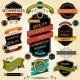 Set of Premium Quality Labels and Stickers. - GraphicRiver Item for Sale