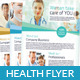 Health Flyer/ Magazine Ad  - GraphicRiver Item for Sale