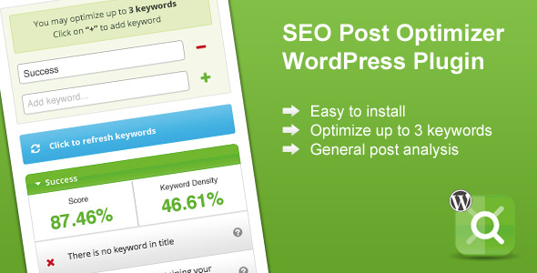 CodeCanyon Wordpress SEO Post Optimizer 4662241