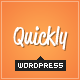 Quickly - Handcrafted WordPress Theme - ThemeForest Item for Sale