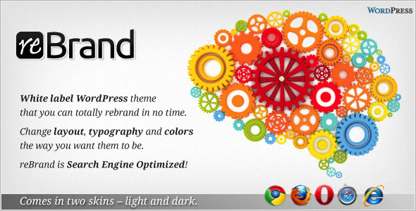 ReBrand - Business and Magazine WordPress Theme - ReBrand featured image.