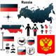 Russia Map - GraphicRiver Item for Sale