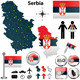 Map of Serbia - GraphicRiver Item for Sale