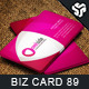 Business Card Design 89 - GraphicRiver Item for Sale
