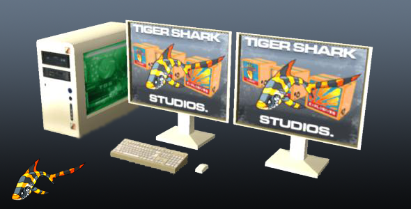 3DOcean Desktop Computer 4672617