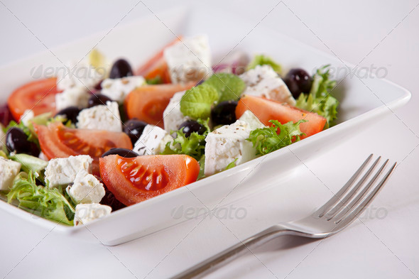 Stock Photo - PhotoDune Salad with feta cheese 488495