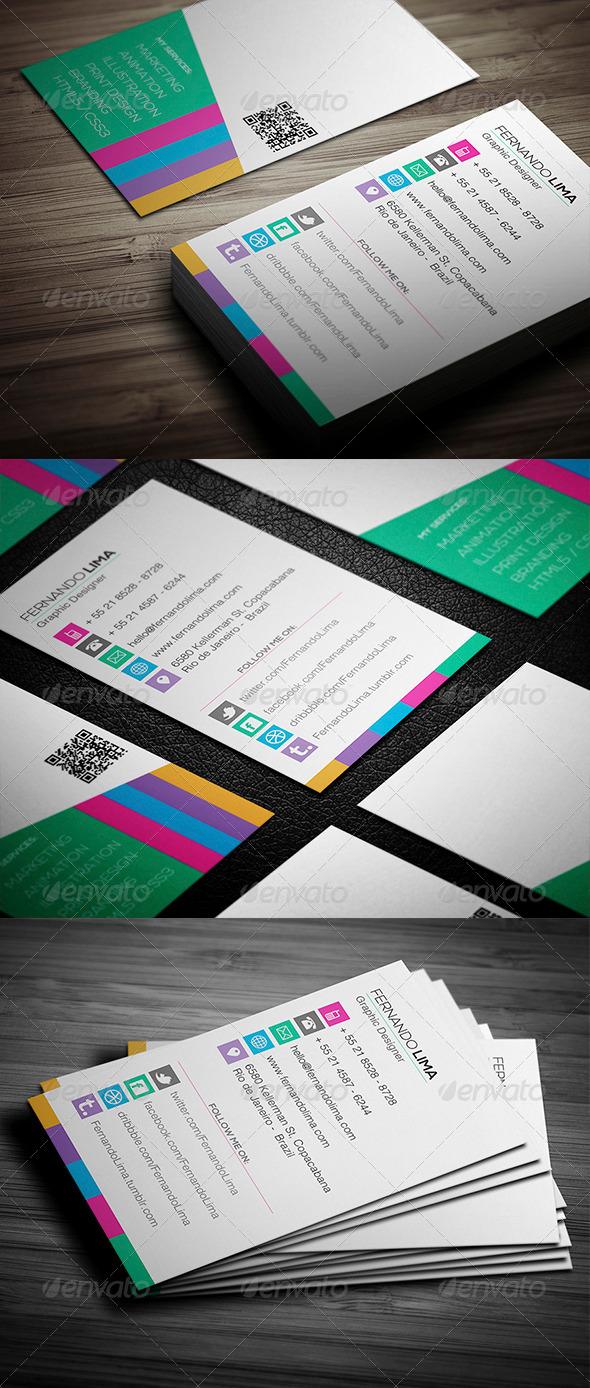 GraphicRiver Designer 2 Business Card 4672806