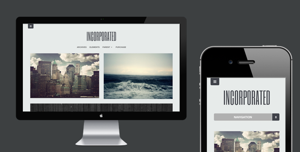Incorporated - WordPress Theme