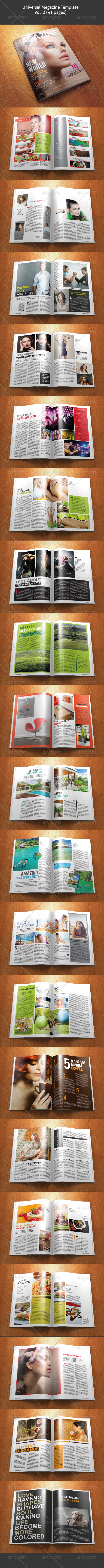GraphicRiver Universal Magazine Template Vol 02 41 pages 4674631