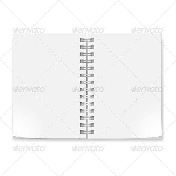 GraphicRiver Realistic Notebook 4674909