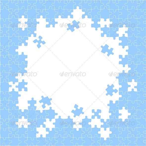 GraphicRiver Puzzle Pieces 4676061