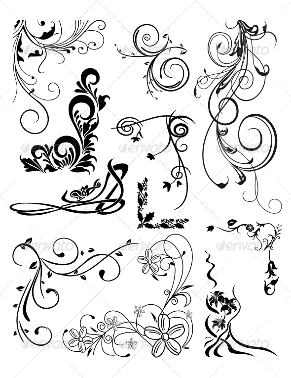 GraphicRiver Various Ornaments 4676473