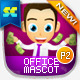 Male Office And Business Mascot Part 2 - GraphicRiver Item for Sale