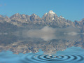 Mountain Peaks with snow and water reflections - PhotoDune Item for Sale