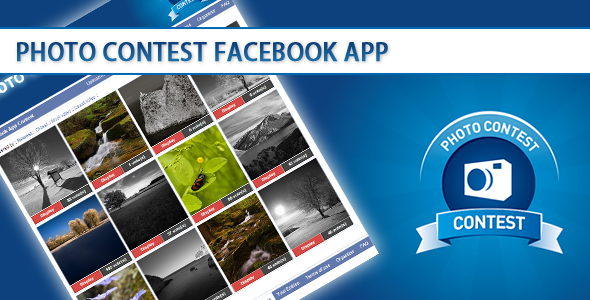 Photo Contest Facebook App script - CodeCanyon Item for Sale