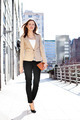 Businesswoman walking outdoors - PhotoDune Item for Sale