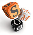Smo orange black dice blocks - PhotoDune Item for Sale