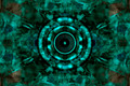 Audio speaker on a green pattern background - PhotoDune Item for Sale