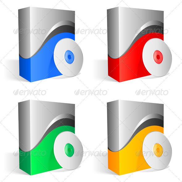 GraphicRiver Software Boxes 4680254