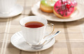 tea cup and doughnuts - PhotoDune Item for Sale