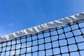 Closeup tennis net with blue sky - PhotoDune Item for Sale
