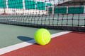 Tennis court with ball closeup - PhotoDune Item for Sale
