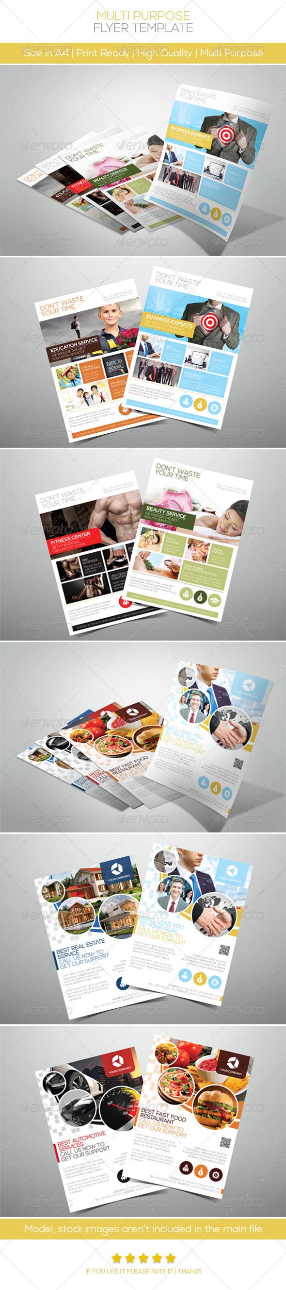 GraphicRiver Multi Purpose Flyer 4681098