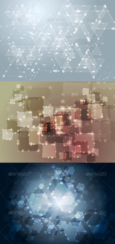 GraphicRiver Vector Technology Elegant Design 4682130