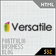 Versatile - Premium Corporate &amp;amp; Portfolio Template - ThemeForest Item for Sale