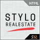 Stylo - Premium Real Estate Template 5 Skins - ThemeForest Item for Sale