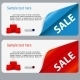Sale Banner with Place for your Text - GraphicRiver Item for Sale