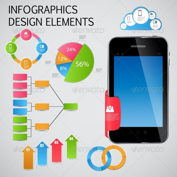 GraphicRiver Infographic Template Business Vector Illustration 4683104