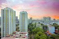 Sunset Over Singapore Housing Estate - PhotoDune Item for Sale