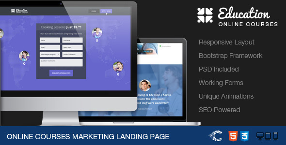 ThemeForest EduTime Online Courses & Education Landing 4683843